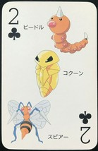 Weedle Kakuna Beedrill 1998 Pokemon Card playing card poker card Rare From JP - $19.99
