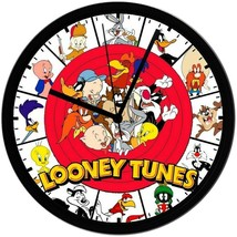 Looney Toons! 8in. Unique Homemade Wall Clock, Battery Included, Free Sh... - $23.97