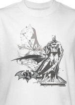 DC Comics Batman Pen and Ink Illustration The Dark Knight Graphic Tee BM1243 image 3