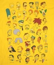 The Simpsons TV Series Multi Head Cast T-Shirt Size XXl (2XL) NEW UNWORN - $17.41