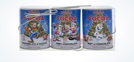 Disney Parks Holiday Mickey & Friends Cocoa 3 Packs New with Box - $16.38