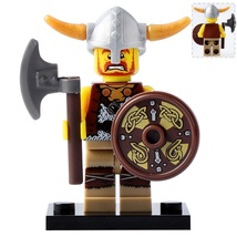 Viking warrior The Great Viking Army Lego Minifigures Block Toy Gift for... - $1.99