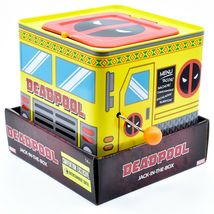 Entertainment Earth SDCC 2019 Exclusive Deadpool Retro Style Jack-in-the-Box image 3