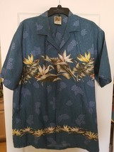 Winnie Fashion Mens Hawaiian Button Front Shirt SZ 2XL Made in Hawaii - $45.00