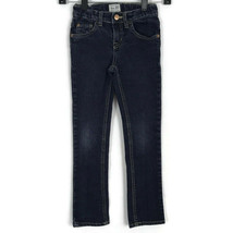 Children's Place Girls Jeans Size 6X/7 Dark Wash Skinny Stretch Adjustab... - $12.59