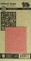 EZMount Stamp Cloisonné Square Rubber Stamp #MS322EZ