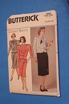 Butterick Sewing Pattern 1980's Skirt & Top Sizes 14-18 UNCUT - $8.21