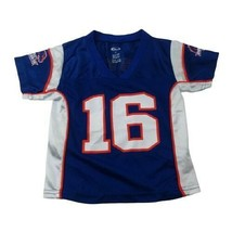 Boise State Idaho Broncos Boys Girls #16 Jersey 2T Toddler by Team Athle... - $14.54