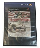 Sony Game Coflict desert storm - $4.99