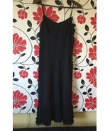 Ann Taylor Loft, Black Dress with Ruffles, Size 2, New without Tags - $10.00