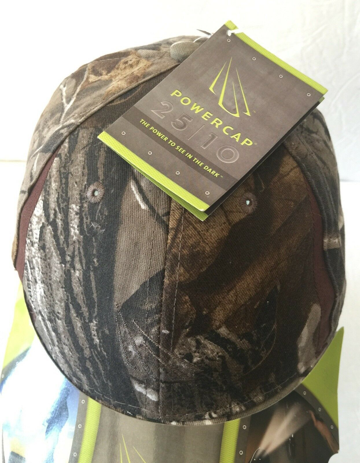 RealTree Real Tree Powercap Lighting Ultra Bright 42 Lumens LED Baseball Cap Hat