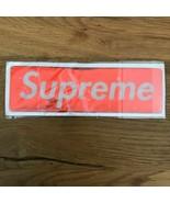 SUPREME NYC Sticker Box Logo PLASTIC FW17 RED - $44.55