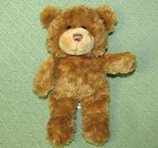"""Disneyland TEDDY BEAR 9"""" ESPN Stuffed Animal Tan BEAN BAG Plush Soft Cud... - $18.70"""