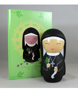 Shining Light Doll St. Hildegard Bingen Collectible Vinyl NEW Story Pray... - $16.64