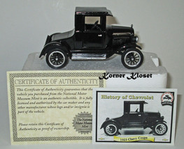 1923 Chevy Coupe - History of Chevrolet, National Motor Museum - New - $18.33