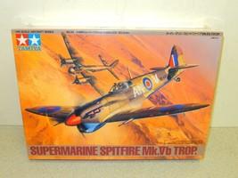 Tamiya Modello Kit- 61035- Supermarine Spitfire Mk. Vb Trop 1: 48- Nuovo... - $19.59