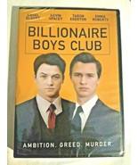 BILLIONAIRE BOYS CLUB (DVD) BRAND NEW SEALED - $12.86