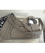 WOMENS JENNA KATOR Huntington Putty LARGE SHOULDER HANDBAG NEW W/ TAGS V... - $79.15