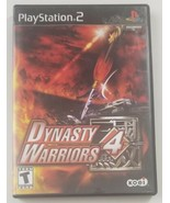 Dynasty Warriors 4 PS2 Game 2003 KOEI Playstation 2 - $12.19