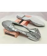 Body Wrappers Angelo Luzio Veena Silve Metallic Foldable Slippers, Women... - $14.24