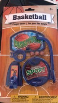 Children Basketball Finger Game - 1x w/Random Color and Design