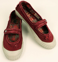 Keds Womens Distressed Worn Style Sneakers 7.5  Mary Jane Pink Off-White... - $19.87 CAD