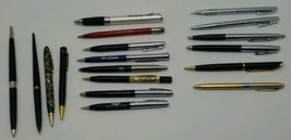 Vtg Pen & Mechanical Pencil Advertising Lot Gates Rubber GE GM Dixon She... - $58.04