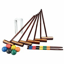 Expert Croquet, Set 2-6 Players, Portable Carry Bag Storage, Fun & Leisu... - $156.81