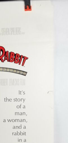 Who Framed Rodger Rabbit Movie Poster Single Sided Original 27x40 Shipped Rolled image 4