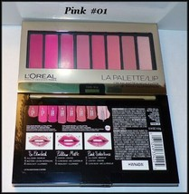 NEW & SEALED  L'OREAL 8 SLOT LA PALETTE LIP CREAM MATTE & HIGHLIGHTER  #... - $6.00
