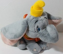 "Disney Store 8"" Dumbo Elephant Character Stuffed Plush Animal Soft Toy Cute - $9.89"