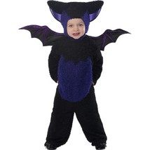 Smiffy's Toddler's Bat Costume, All In One Jumpsuit With Hood & Wings, ,... - $37.69