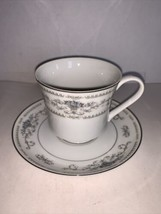 Fine Porcelain China Of Japan Diane Cup and Saucer - $4.00