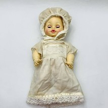 Vintage Horsman Baby Doll Drink And Wet 13.5 Inches Sleepy Eyes Rubber Body - $39.99
