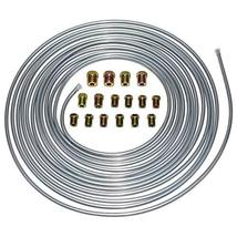 A-Team Performance 3/16'' Double Walled Galvanized Steel Tube Roll Brake Line Ki image 2