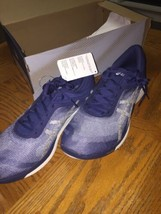 Mens ASICS Blue FuzeX Gel Rush Running Training Gym Sneakers Shoes 12 D Nwb - $60.00
