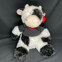 "Tillamook Cow Plush Stuffed Animal Advertising Aurora Logo NWT 14"" Black... - $37.99"