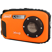 Coleman 20.0 MP/HD Waterproof Digital Camera-Orange - $123.18