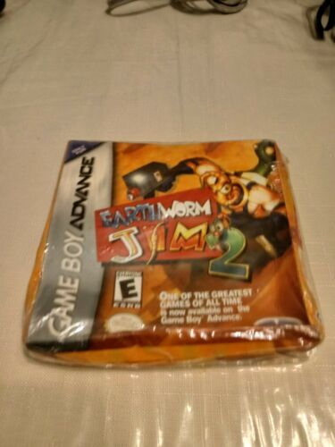 Earthworm Jim 2 (Nintendo Game Boy Advance, 2002) Brand New Factory Sealed Rare