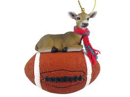 Deer Doe Football Ornament - $17.99