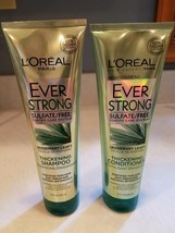 Lot of 2 L'Oreal Ever Strong Thickening Shampoo & Cond Rosemary Leaf, 8.... - $15.99