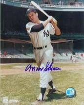"""Bill """"Moose"""" Skowron signed New York Yankees 8x10 Photo (deceased) - $15.00"""