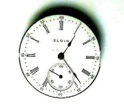 Ladies Antique c.1905 (4-REPAIR/PARTS) Elgin Pocket Watch MOVEMENT/DIAL - $99.00