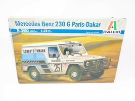 Tamiya Italeri 3692 1:24 Mercedes-Benz 230G Paris-Dakar Rally Model Car ... - $391.99
