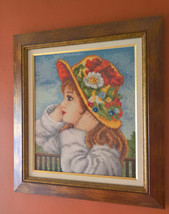 """Gobelin Tapestry """"A Girl with hat"""" - $326.70"""