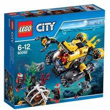 LEGO City Deep Sea Submarine 60092 [New] Building Toy Set - $95.45