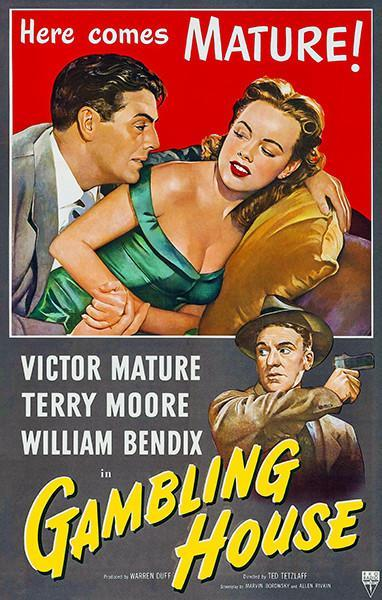 Primary image for Gambling House - 1950 - Movie Poster
