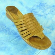 Dansko Topanga Leather Tan Slip On Thong Comfort Sandals Size Euro 40 US... - $29.65