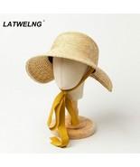 Hats Children Summer Straw Sun Hats Girls Beach Hat Journey UV Protectio... - $28.10