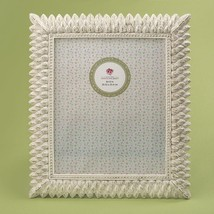 Brushed leaf ivory 8 x 10 frame from gifts by fashioncraft  - $22.99